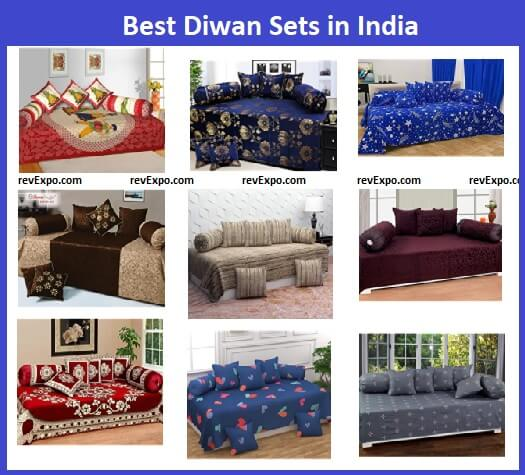 Best Diwan Set covers in India