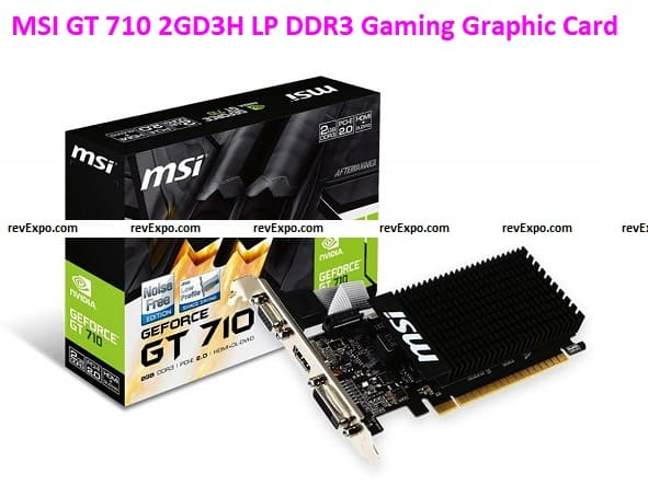 MSI GT 710 2GD3H LP DDR3 Gaming Graphic Card