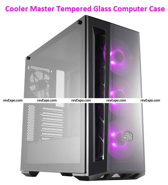 Cooler Master Masterbox MB520 RGB Steel /Plastic/Tempered Glass Computer Case