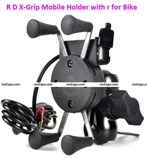 R D X-Grip Mobile Holder with r for Bike