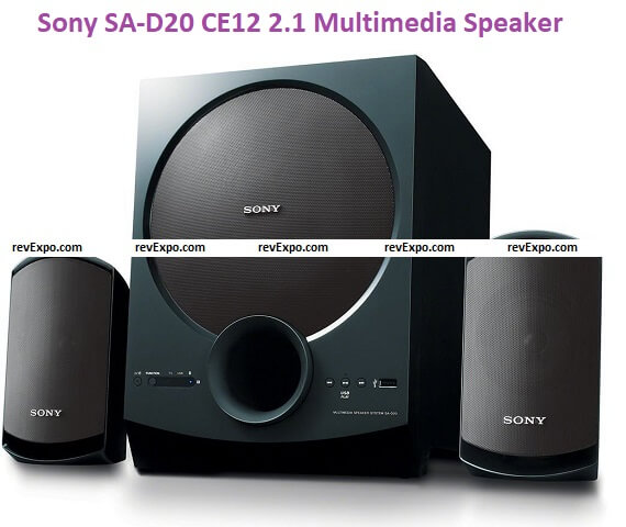 Sony SA-D20 CE12 2.1 Channel Multimedia Speaker System with Bluetooth