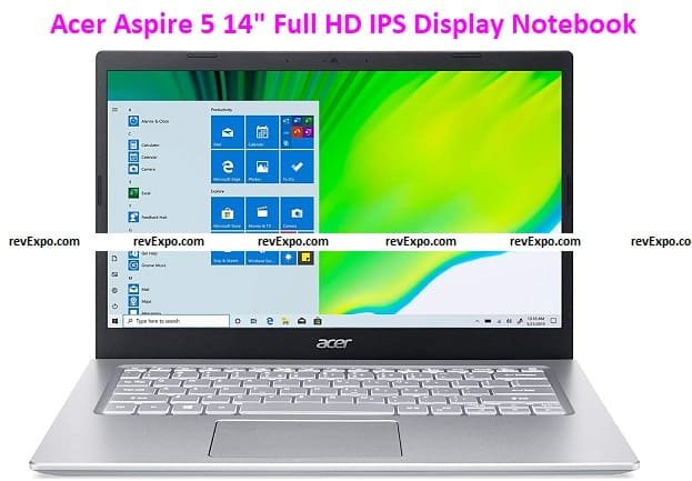 """Acer Aspire 5 14"""" Full HD IPS Display Thin and Light Notebook"""