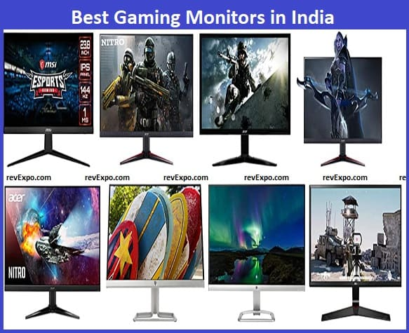 Best Gaming Monitor brands in India
