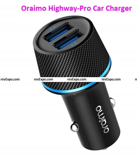 oraimo Highway-Pro Car Charger
