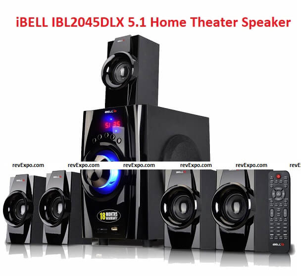 iBELL IBL2045DLX 5.1 Home Theater Speaker