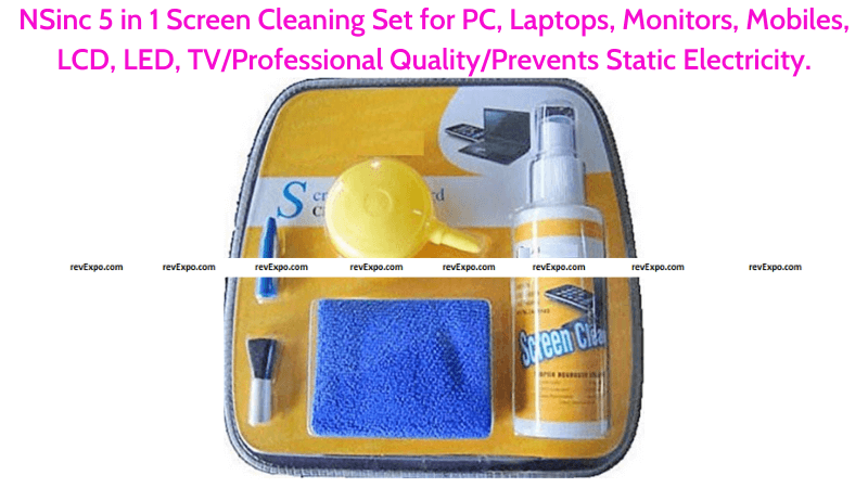 NSinc 5 in 1 Screen Cleaning Set