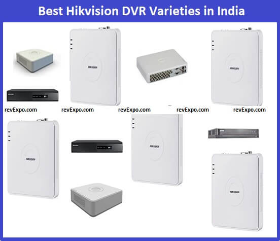 Best Hikvision DVR for CCTC cameras in India