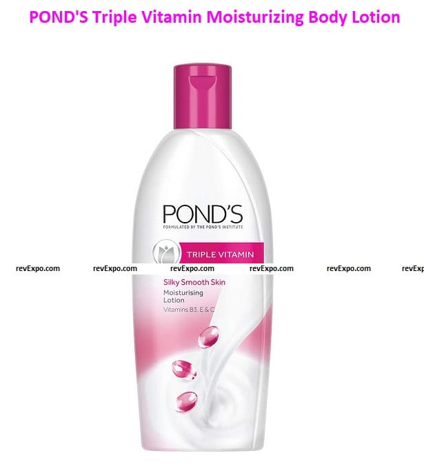POND'S Triple Vitamin Moisturizing Body Lotion, Gives 3x Moisturisation For Soft, Smooth, Radiant Skin in Winters, 300 ml