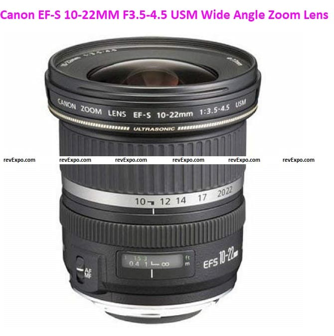 Canon EF-S 10-22MM F3.5-4.5 USM Wide Angle Zoom Lens