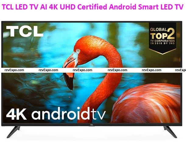 TCL 43 inches LED TV AI 4K UHD Certified Android Smart LED TV 43P8