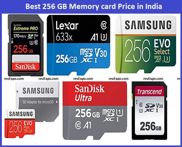 Best 256GB Memory card Price in India