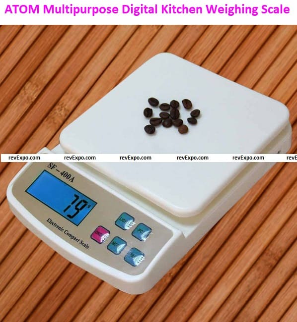 ATOM SF-400A-Multipurpose Digital Kitchen Weighing Scale