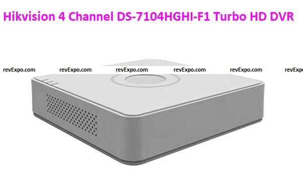 Hikvision 4 Channel DS-7104HGHI-F1 Turbo HD DVR