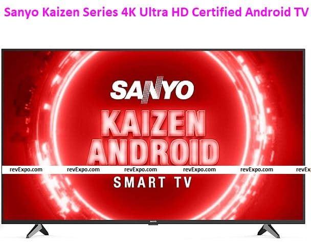 Sanyo 50 inch TV Kaizen Series 4K Ultra HD Certified Android LED XT-50UHD4S