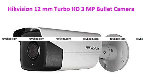 Hikvision Ds-2ce16f1t-It3 12 mm Turbo HD 3 MP Bullet Camera