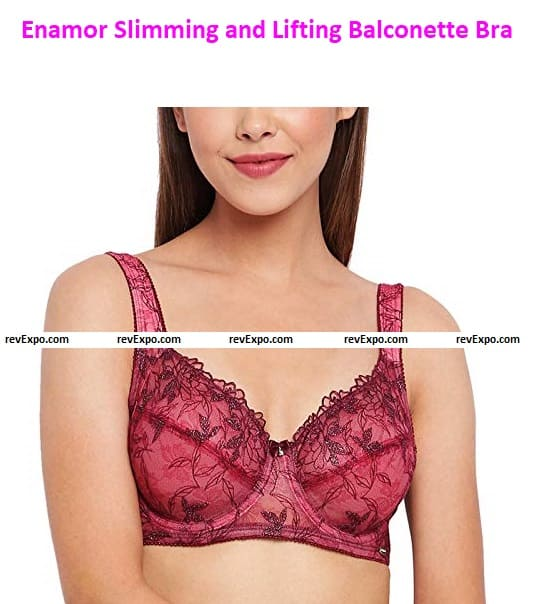 Enamor F046 Ultimate Shaper Slimming and Lifting Balconette Bra - Non-Padded • Wired • High Coverage