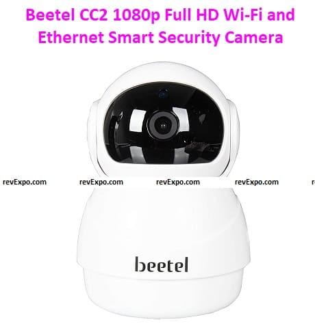 Beetel CC2 1080p Full HD Wi-Fi and Ethernet Smart Security Camera