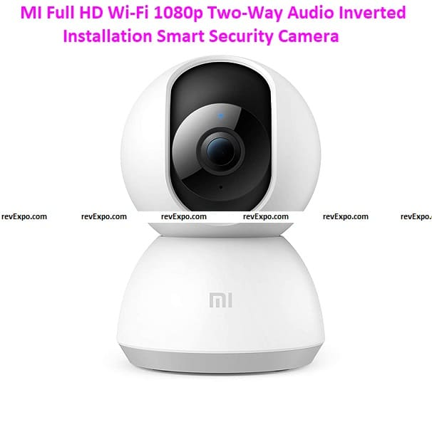 MI Full HD Wi-Fi 1080p Two-Way Audio Inverted Installation Smart Security Camera