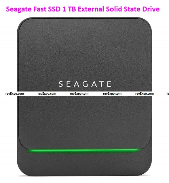 Seagate Fast SSD 1 TB External Solid State Drive