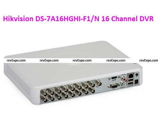 Hikvision DS-7A16HGHI-F1/N 16 Channel DVRs
