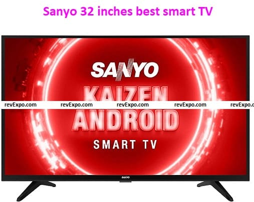 Sanyo 32 inches best smart TV Kaizen Series HD Ready Certified Android XT-32RHD4S