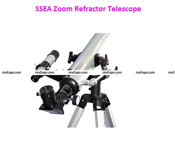 SSEA 525x Multiple Magnification Options, 56X, 168X, 175X, 525Xpower with 3 Multi-Power mod 60700 Zoom Refractor Telescope Price