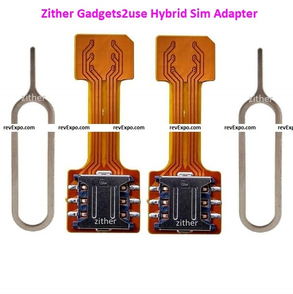Zither Gadgets2use Hybrid Sim Adapter