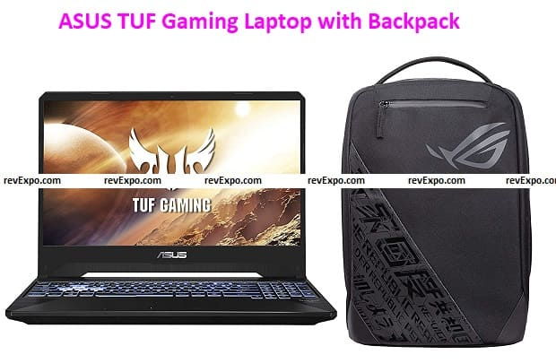 ASUS TUF Gaming FX505DT-BQ151T Laptop with ROG BP1501G 15.6-inch Backpack