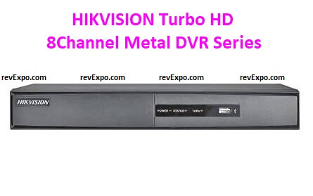 HIKVISION Turbo HD 8Channel Metal DVR Series