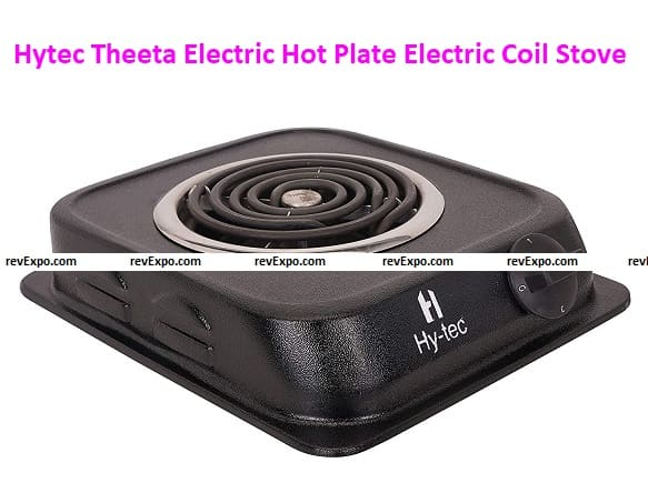 Hytec 1250 Watt Theeta Electric Hot Plate Induction Cooktop/Induction Cooker/Handy Coil Cooktop/Electric Coil Stove