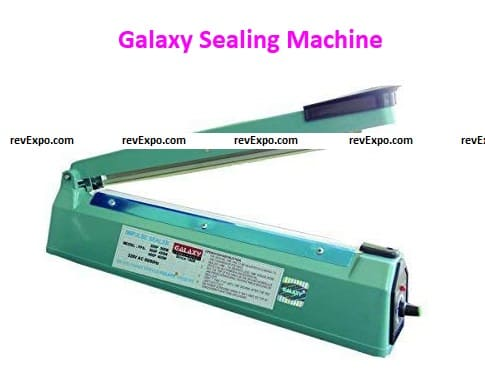 Galaxy Sealing Machine 12 Inch Hand Hald Heat Sealer for Plastic Packing(300Mm), Plastic Body with Repair Kit