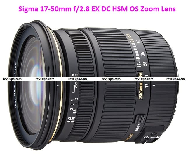 Sigma 17-50mm f/2.8 EX DC HSM OS Zoom Lens for Canon DSLR Camera