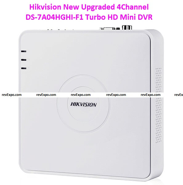 Hikvision New Upgraded 4Channel DS-7A04HGHI-F1 Turbo HD Mini DVRs