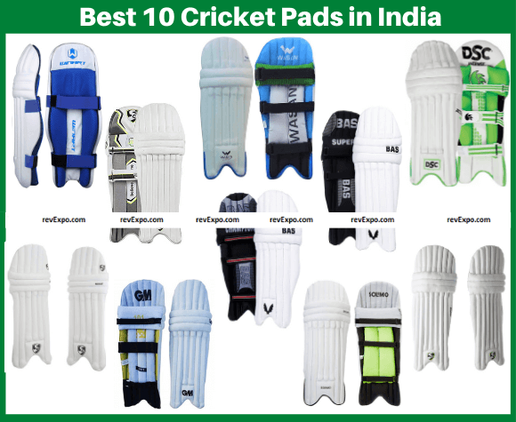 Best 10 Cricket Pads in India