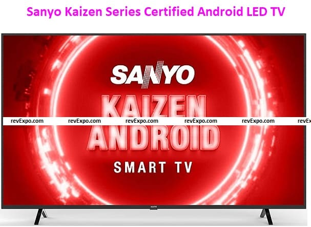 Sanyo 164 cm (65 inches) Kaizen Series 4K Ultra HD Certified Android LED TV XT-65UHD4S (Black) (2020 Model)