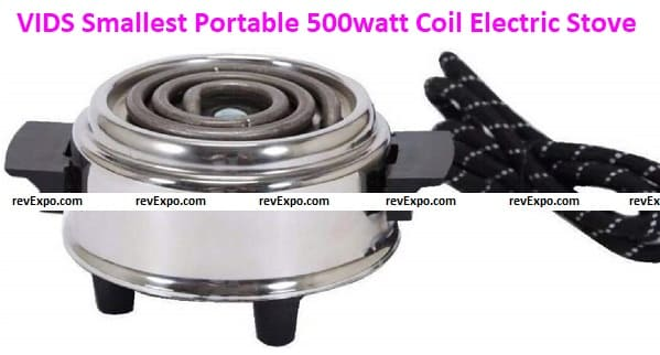 VIDS Smallest Portable 500watt Coil Electric Stove for Cooking