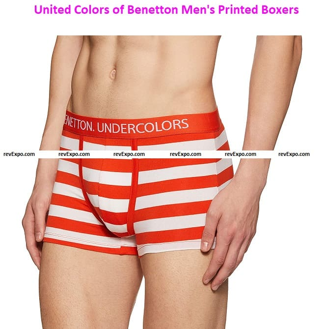 United Colors of Benetton Men's Printed Boxers