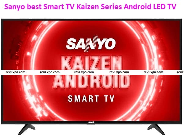 Sanyo best 43-inch Smart TV Kaizen Series Full HD Certified Android LED TV XT-43FHD4S