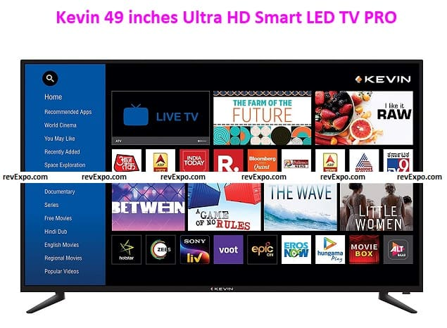 Kevin 124cm (49 inches) Ultra HD Smart LED TV PRO