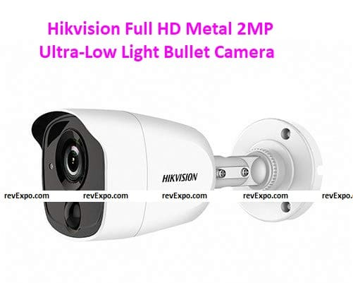 Hikvision DS-2CE1AD0T-PIR Full HD Metal 2MP Ultra-Low Light Bullet Camera - Indoor/Outdoor