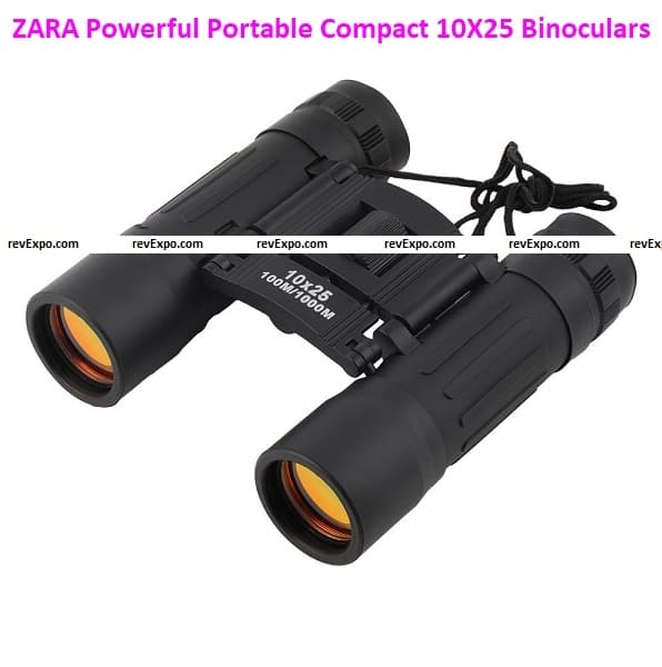 ZARA New Comet Powerful Portable Compact Mini Pocket 10X25 Binoculars Telescope For Camping Travel Concerts Outdoors