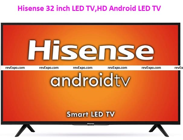 Hisense 32 inch LED TV HD Ready Smart Certified Android 32A56E