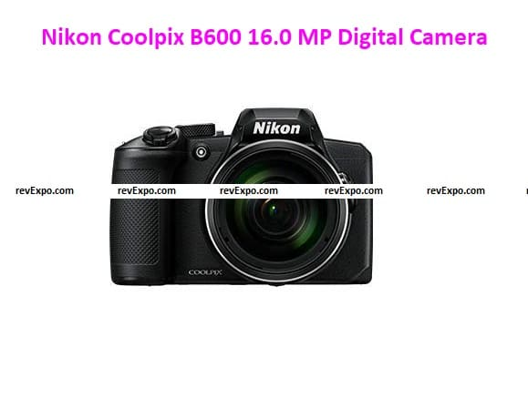 Nikon Coolpix B600 16.0 MP Point-and-Shoot Digital Camera with 60x Optical Zoom