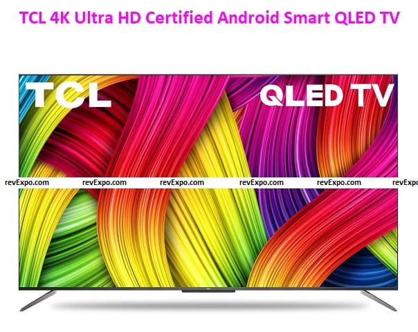 TCL 4K Ultra HD Certified Android Smart QLED TV 50C715