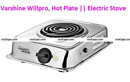 Varshine Willpro, Hot Plate    Electric Stove    Model- G. Coil H-85