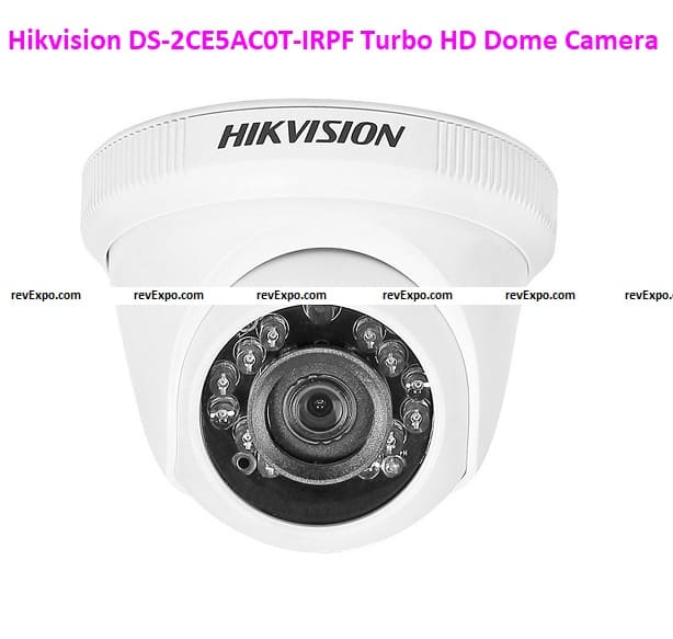 Hikvision DS-2CE5AC0T-IRPF Turbo HD Dome Cameras