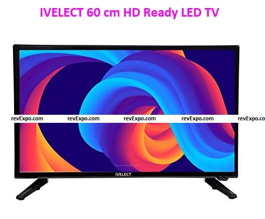 IVELECT 60 cm (24 Inches) HD Ready LED TV (Black) – Great Quality LED TV