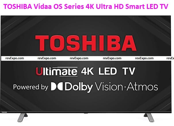 TOSHIBA 139 cm (55 inches) Vidaa OS Series 4K Ultra HD Smart LED TV 55U5050 (Black) (2020 Model) | with Dolby Vision and Atmos