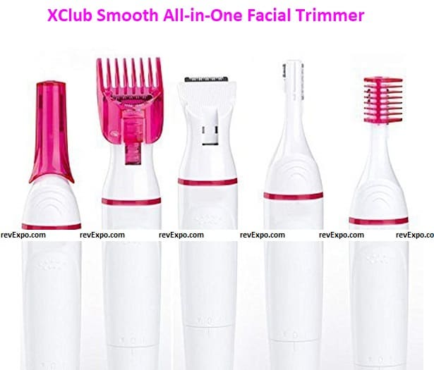 XClub Smooth All-in-One Facial Trimmer System