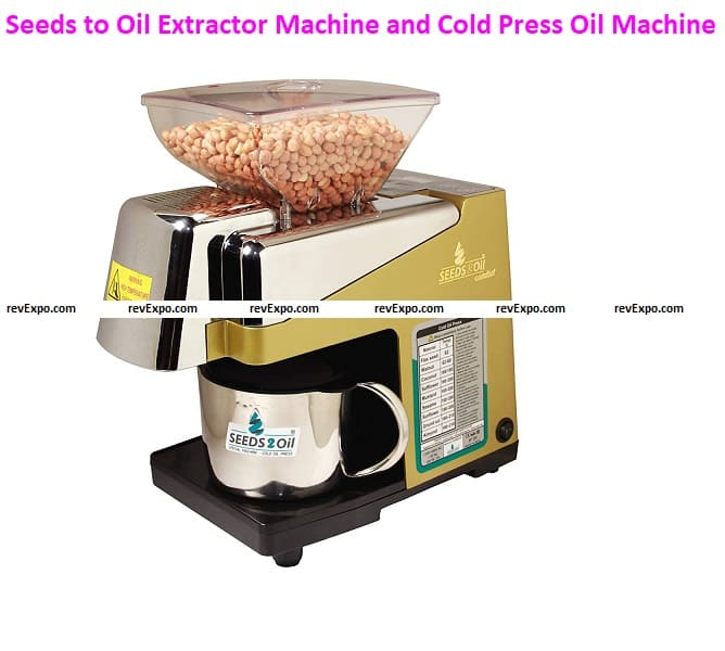 Seeds to Oil S2O-2A Oil Extractor Machine and Cold Press Oil Machine